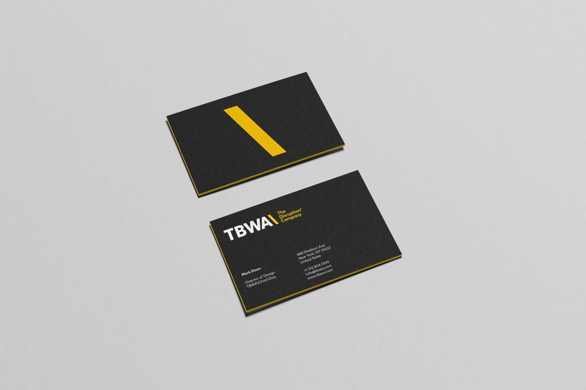 1 Day Business Cards Gallery - Business Card Template
